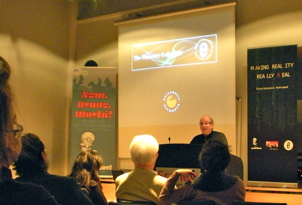 Roy Ascott lecture at Trondheim